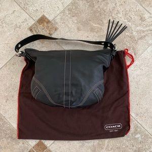 Black Coach hobo bag w/ dust bag